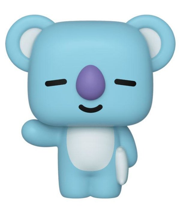 BT21 Line Friends POP! Animation Vinyl Figur Koya 9 cm
