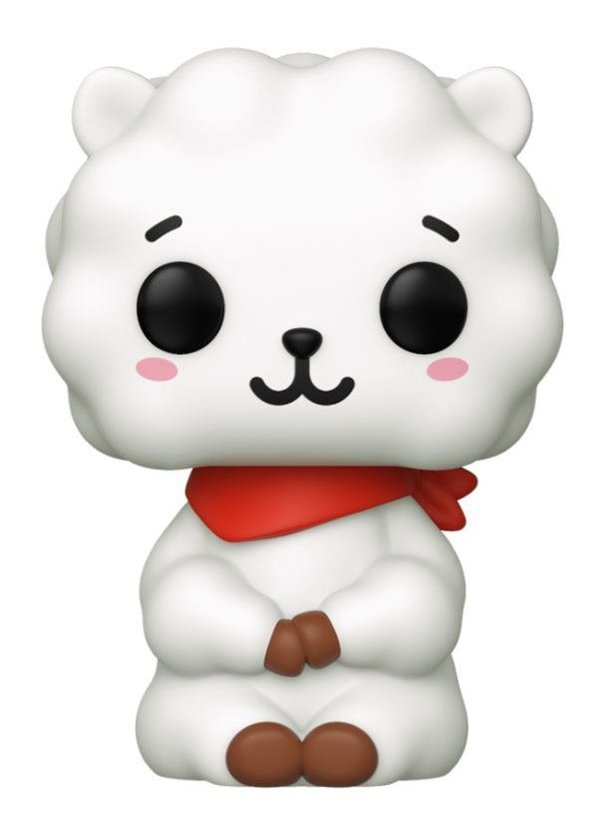 BT21 Line Friends POP! Animation Vinyl Figur RJ 9 cm