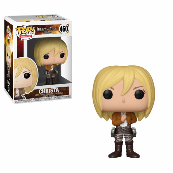 Attack on Titan POP! Animation Vinyl Figur Christa 9 cm