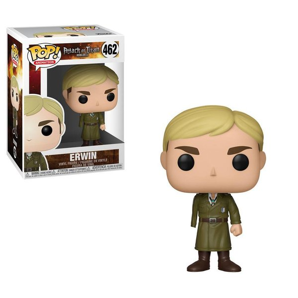 Attack on Titan POP! Animation Vinyl Figur Erwin (One-Armed) 9 cm