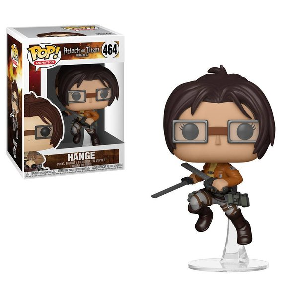 Attack on Titan POP! Animation Vinyl Figur Hange 9 cm