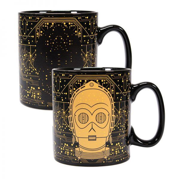 Star Wars Tasse mit Thermoeffekt C-3PO