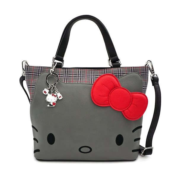 Hello Kitty by Loungefly Umhängetasche Grey Kitty