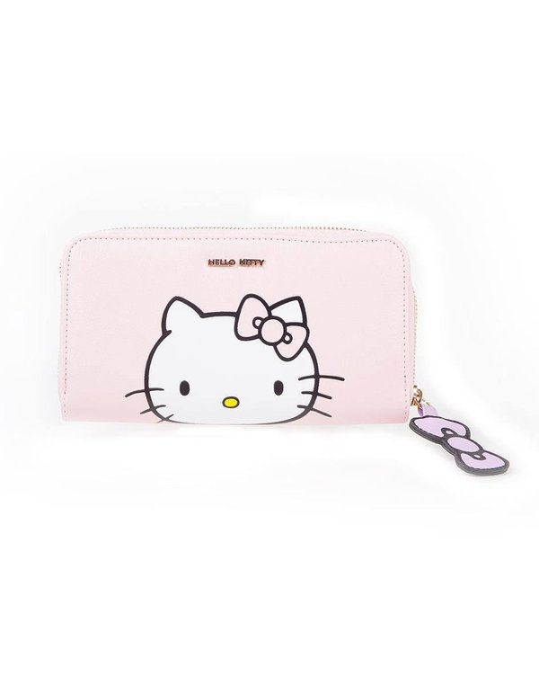 Hello Kitty Damen Geldbeutel Pink Kitty