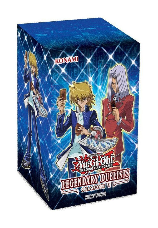 Yu-Gi-Oh! Collector's Set Legendary Duelists Season 1 Display (8) deutsch