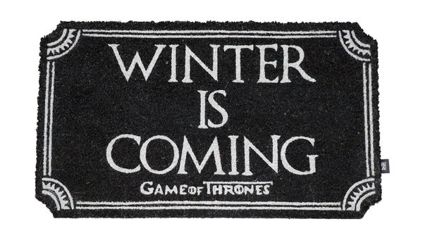 Game of Thrones Fußmatte Winter Is Coming 43 x 72 cm