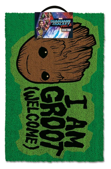Guardians of the Galaxy Vol. 2 Fußmatte I AM GROOT - Welcome 40 x 57 cm