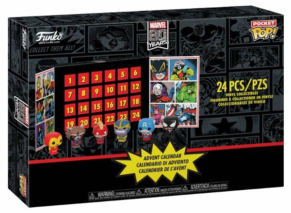 Marvel Pocket POP! Adventskalender