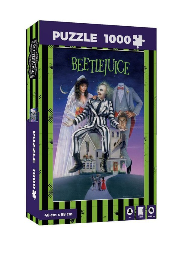 Beetlejuice Puzzle Movie Poster