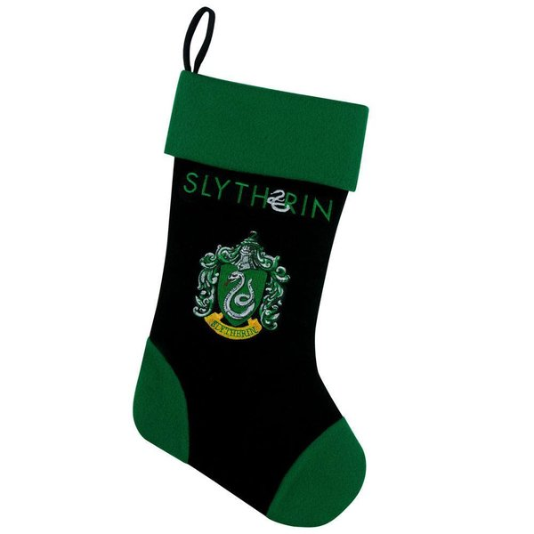 Harry Potter Weihnachtsstrumpf Slytherin 45 cm