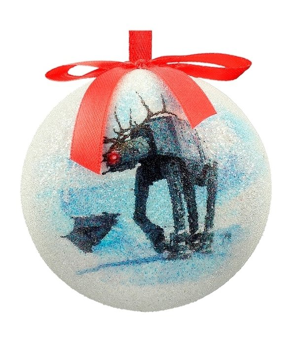 Star Wars Weihnachtsbaumkugel AT-AT Reindeer - Ornament - X-Mas