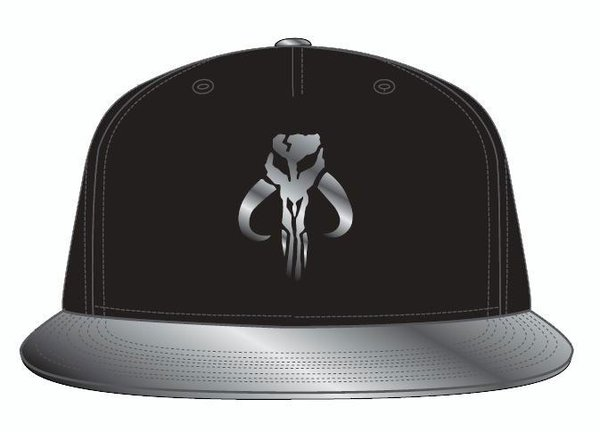 Star Wars The Mandalorian Snapback Cap Logo