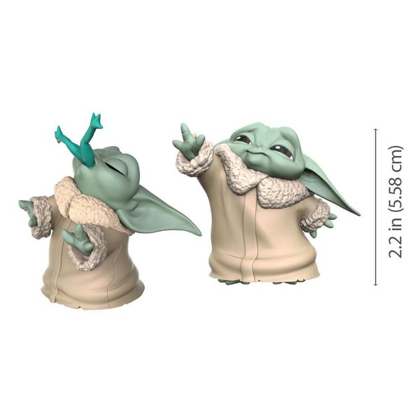 Star Wars Mandalorian Bounty Collection Figuren 2er-Pack The Child Froggy Snack & Force Moment