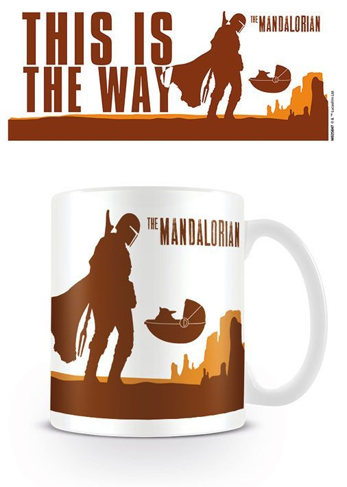 Star Wars The Mandalorian Tasse This is the Way