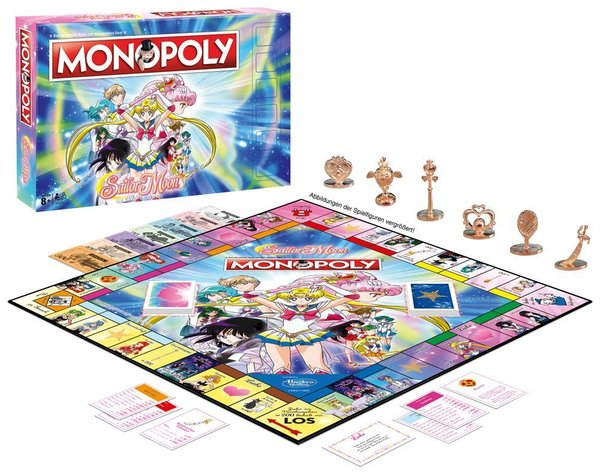 Sailor Moon Brettspiel Monopoly *Deutsche Version*