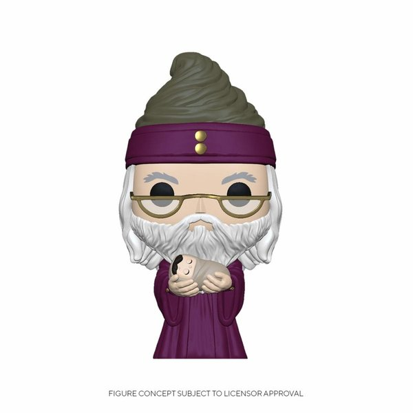 Harry Potter POP! Movies Vinyl Figur Dumbledore w/Baby Harry 9 cm