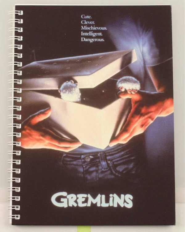 Gremlins Notizbuch Movie Poster