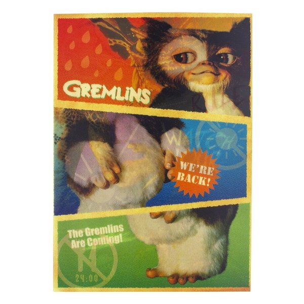 Gremlins Notizbuch 3D Iconic Imagery