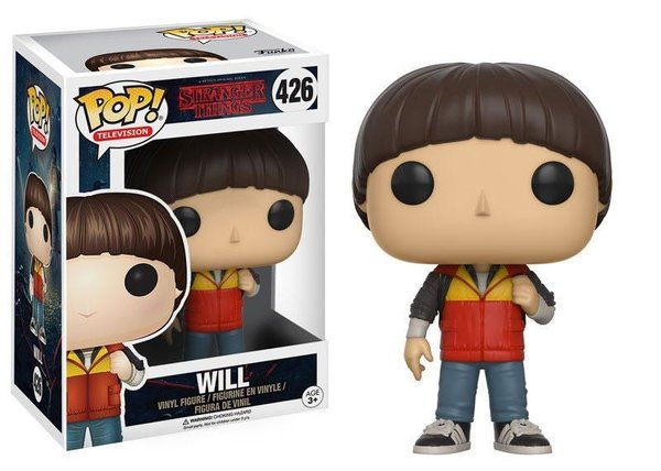 Stranger Things POP! TV Vinyl Figur Will 9 cm