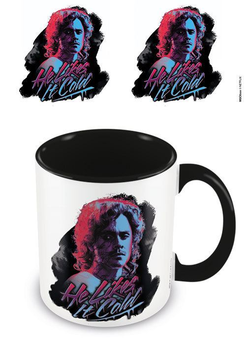 Stranger Things Coloured Inner Tasse He Likes It Cold