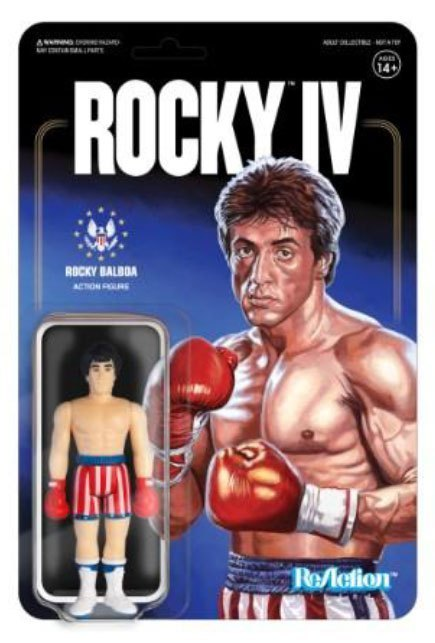 Rocky 4 ReAction Actionfigur Rocky 10 cm