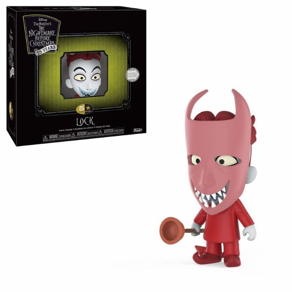Nightmare before Christmas 5 Star Vinyl Figur Lock 9 cm