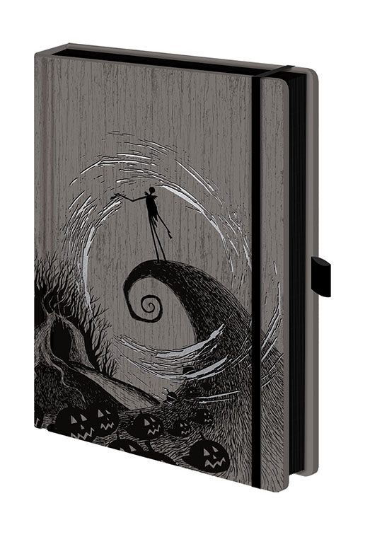 Nightmare before Christmas Premium Notizbuch A5 Moonlight Madness