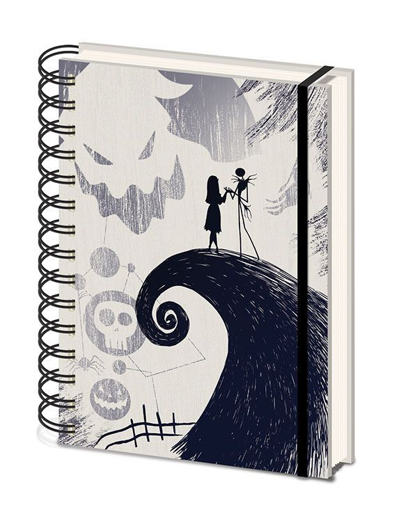 Nightmare before Christmas Wiro Notizbuch A5 Spiral Hill