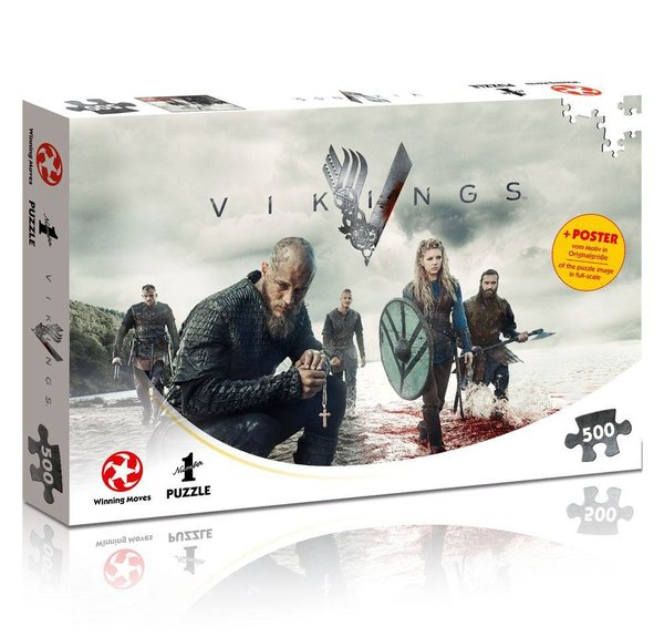 Vikings Puzzle The World Will be Ours