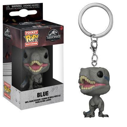 Jurassic World 2 Pocket POP! Vinyl Schlüsselanhänger Blue 4 cm