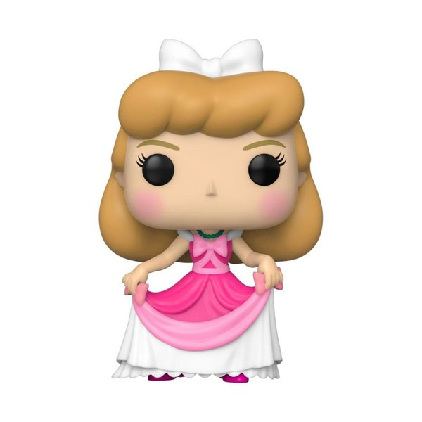 Cinderella POP! Vinyl Figur Cinderella (Pink Dress) 9 cm