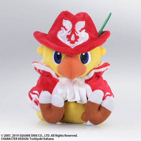 Chocobo's Mystery Dungeon EVERY BUDDY! Plüschfigur Chocobo Red Mage 18 cm
