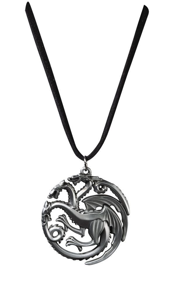 Game of Thrones Anhänger mit Kette Targaryen Sigil Costume