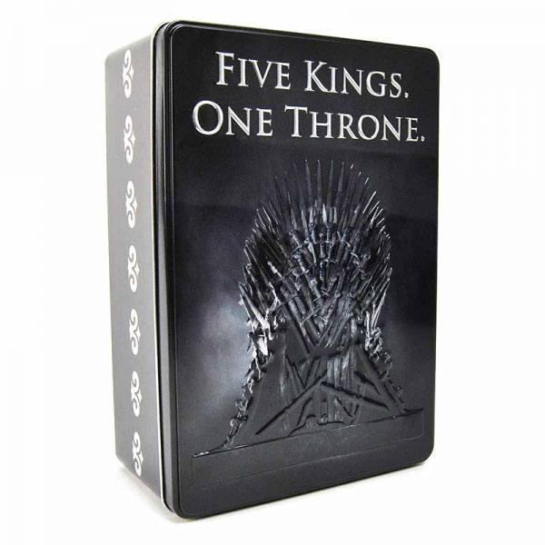Game of Thrones Blechdose Five Kings One Throne