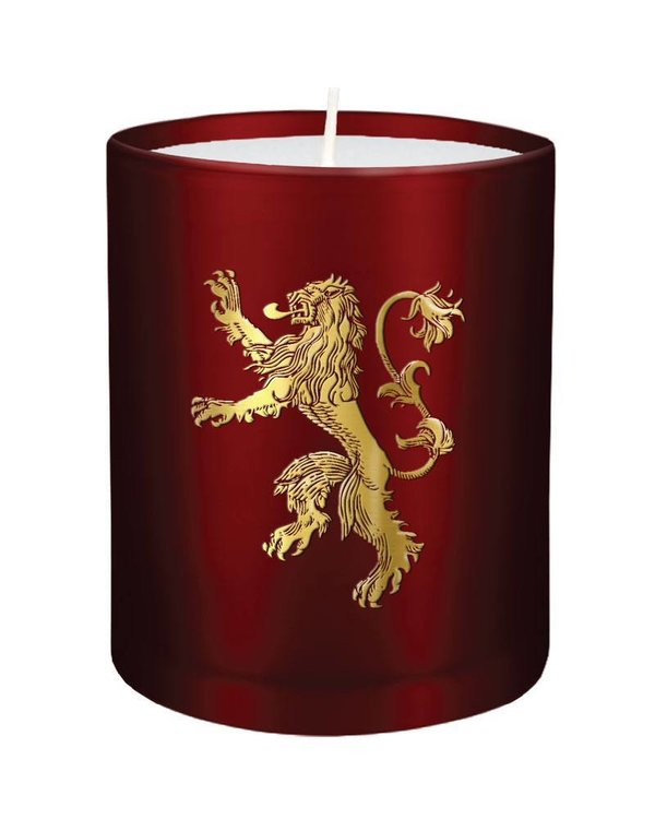 Game of Thrones Kerze im Glas House Lannister 8 x 9 cm