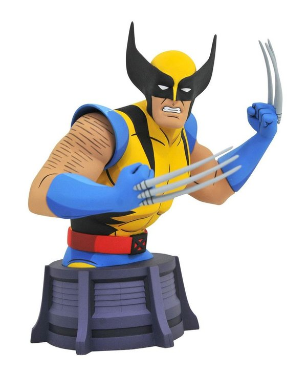 Marvel X-Men Animated Series Büste Wolverine 15 cm