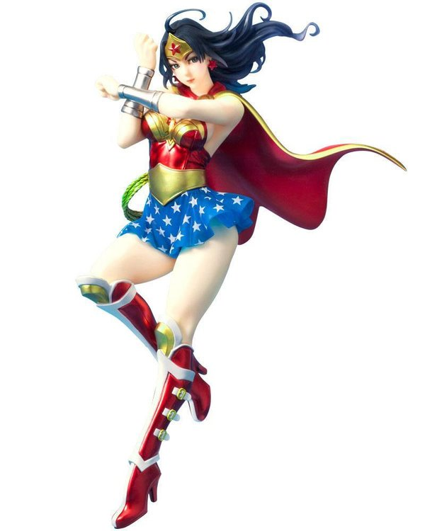 DC Comics Bishoujo PVC Statue 1/7 Armored Wonder Woman 2nd Edition 24 cm