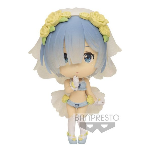 Re:Zero Starting Life in Another World ChiBi Kyun Minifigur Rem 6 cm