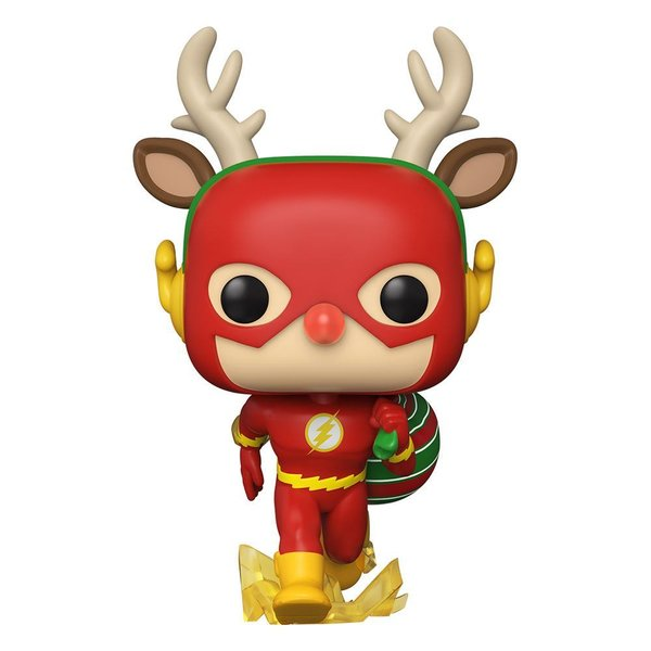 DC Comics POP! Heroes Vinyl Figur DC Holiday: The Flash Holiday Dash 9 cm