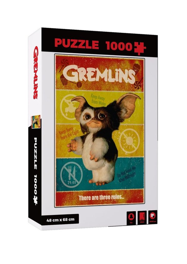 Gremlins Puzzle There Are Three Rules