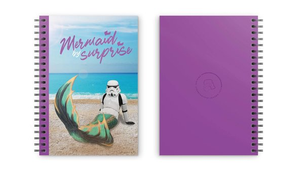 Original Stormtrooper Notizbuch Mermaid For Surprise