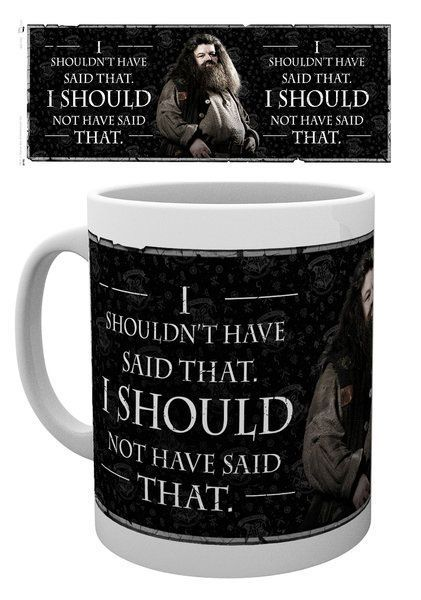 Harry Potter Tasse Hagrid Quote
