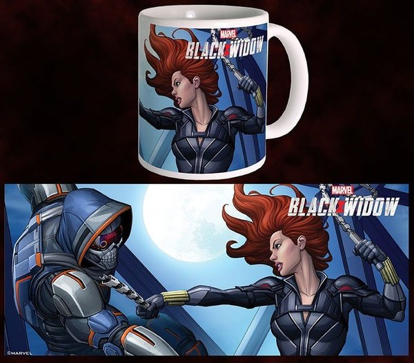 Black Widow Movie Tasse BW vs TM