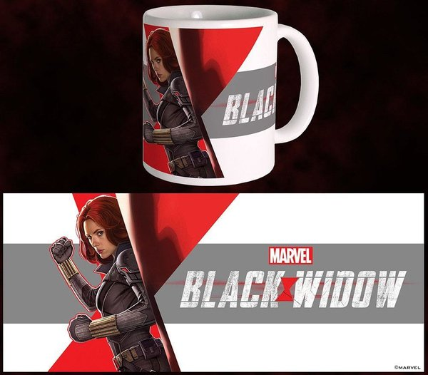 Black Widow Movie Tasse Side
