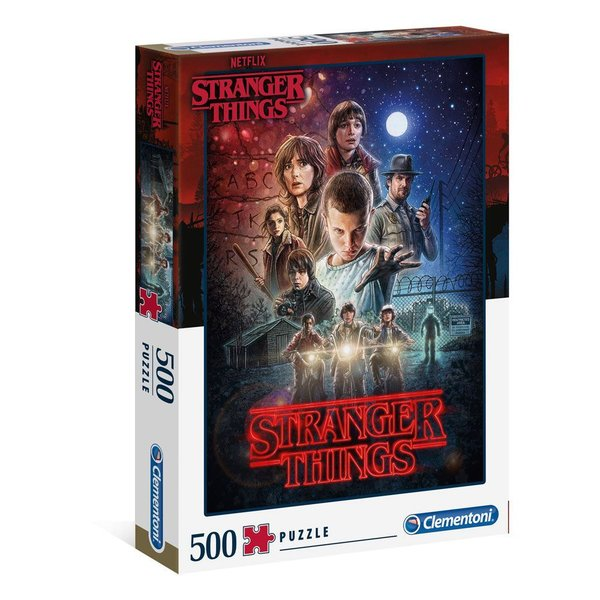 Stranger Things Puzzle Staffel 1 (500 Teile)