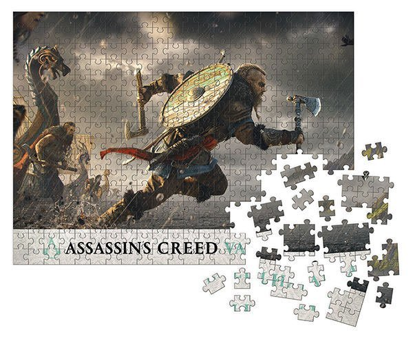 Assassin's Creed Valhalla Puzzle Fortress Assault (1000 Teile)