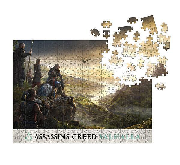 Assassin's Creed Valhalla Puzzle Raid Planning (1000 Teile)