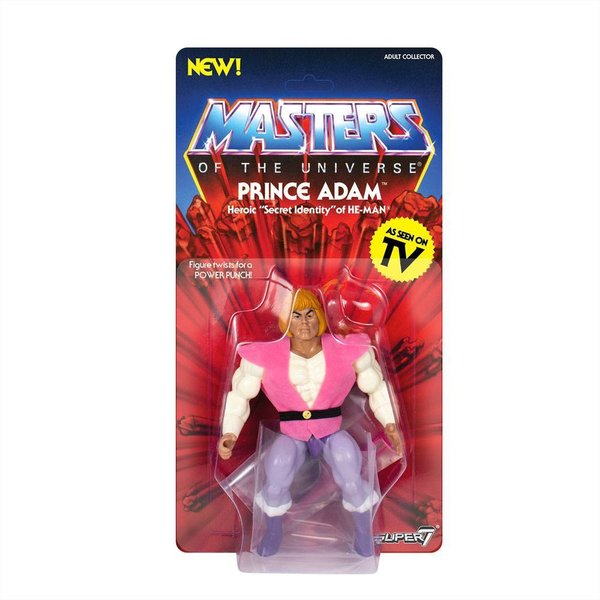 Masters of the Universe Vintage Collection Actionfigur Wave 3 Prince Adam 14 cm