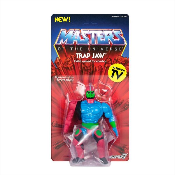 Masters of the Universe Vintage Collection Actionfigur Wave 3 Trap Jaw 14 cm