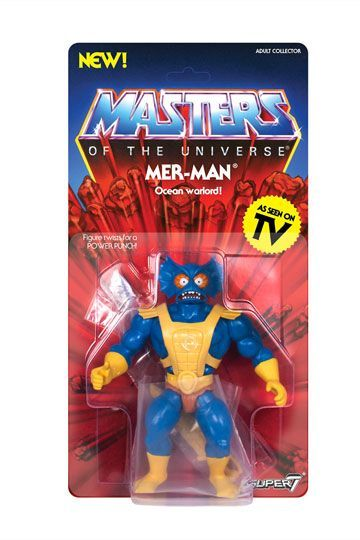 Masters of the Universe Vintage Collection Actionfigur Wave 3 Mer-Man 14 cm